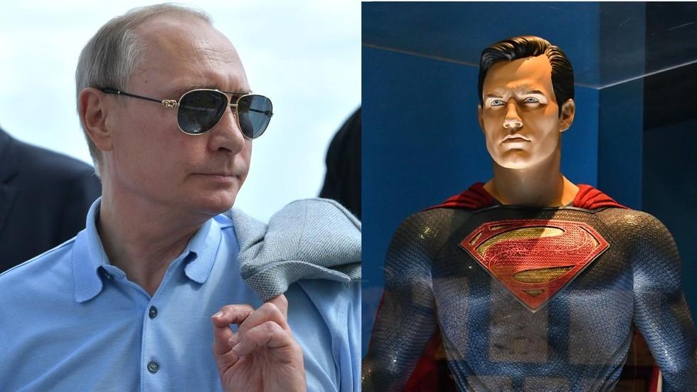 普京与超人吵架!DC新漫画引发俄媒关注