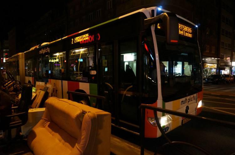 卢森堡的圣诞礼品:公交收费