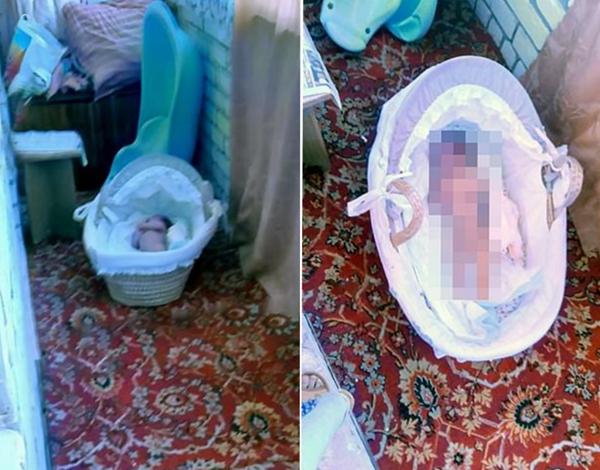 俄三月大女婴被母亲脱光扔在冰冷阳台