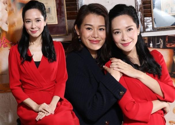 胡杏儿郭羡妮合作拍新戏 两女神同框出镜明艳动人