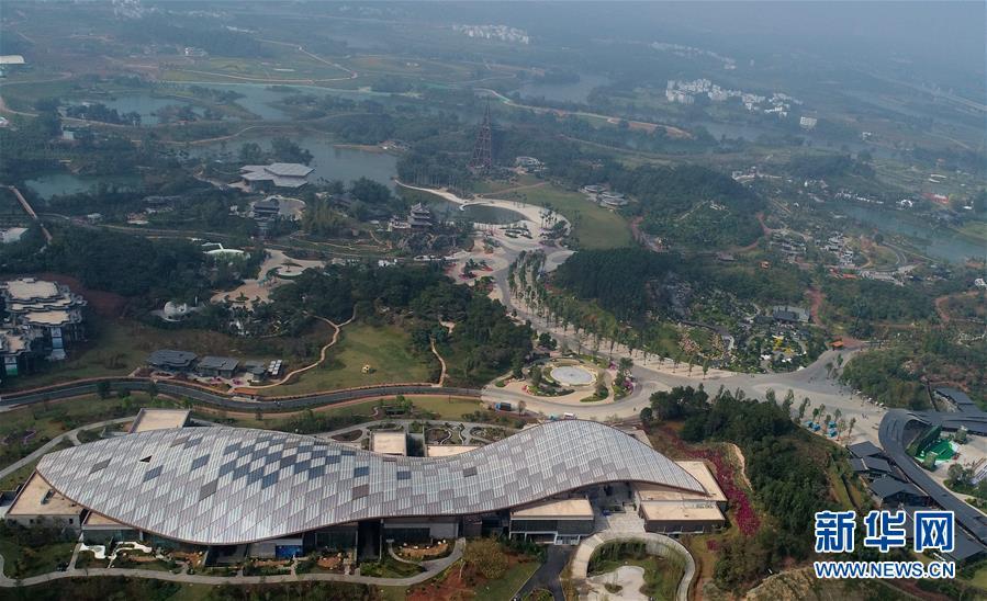 第十二届中国(南宁)国际园林展览会开幕