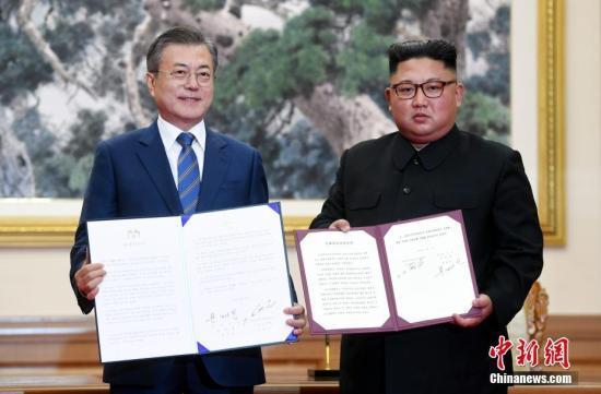 韩欲组建韩朝联合军委会 帮助落实《9·19军事协议》