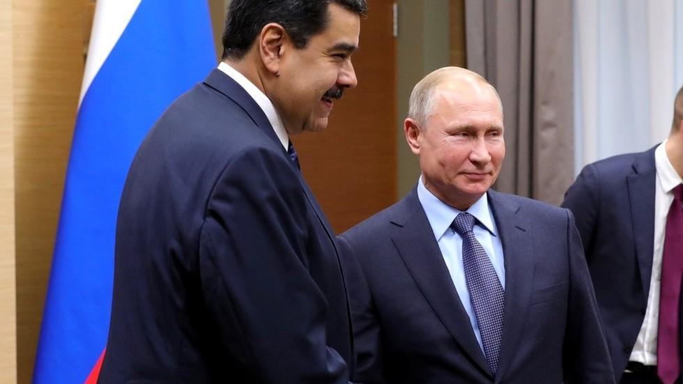 俄罗斯与委内瑞拉签50亿美元大单 马杜罗:感谢普京