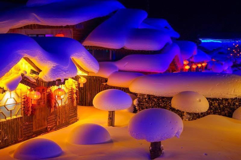 """""""白色鸦片""""?去雪乡感受冬季吧!"""
