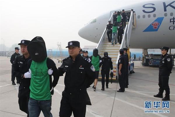 柬埔寨将46名台籍嫌犯遣返大陆 台当局又跳脚了