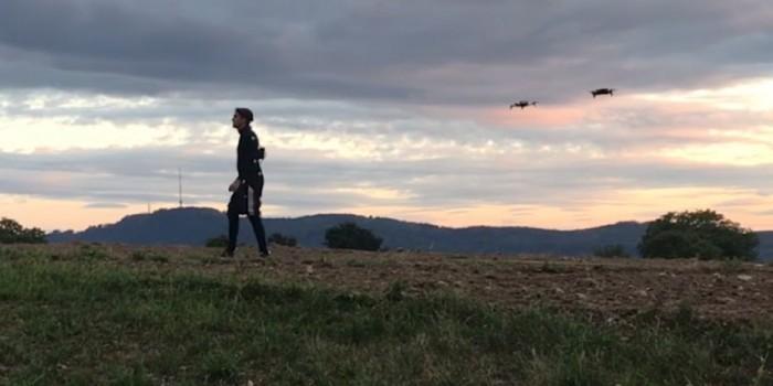 科学家研发无人机技术:简化动画捕捉流程