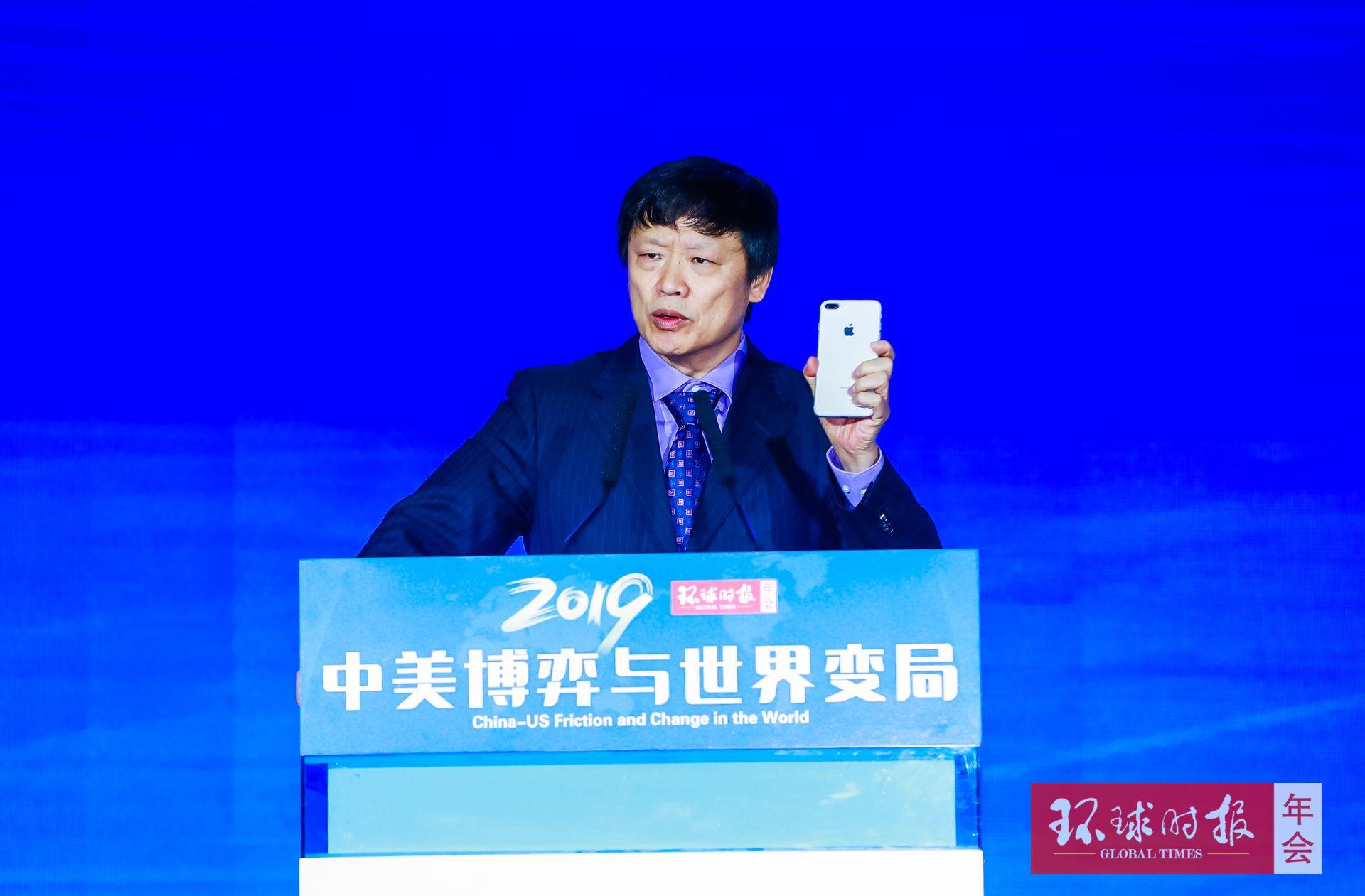 胡锡进谈为何用iPhone发博挺华为:不应歧视外国品牌