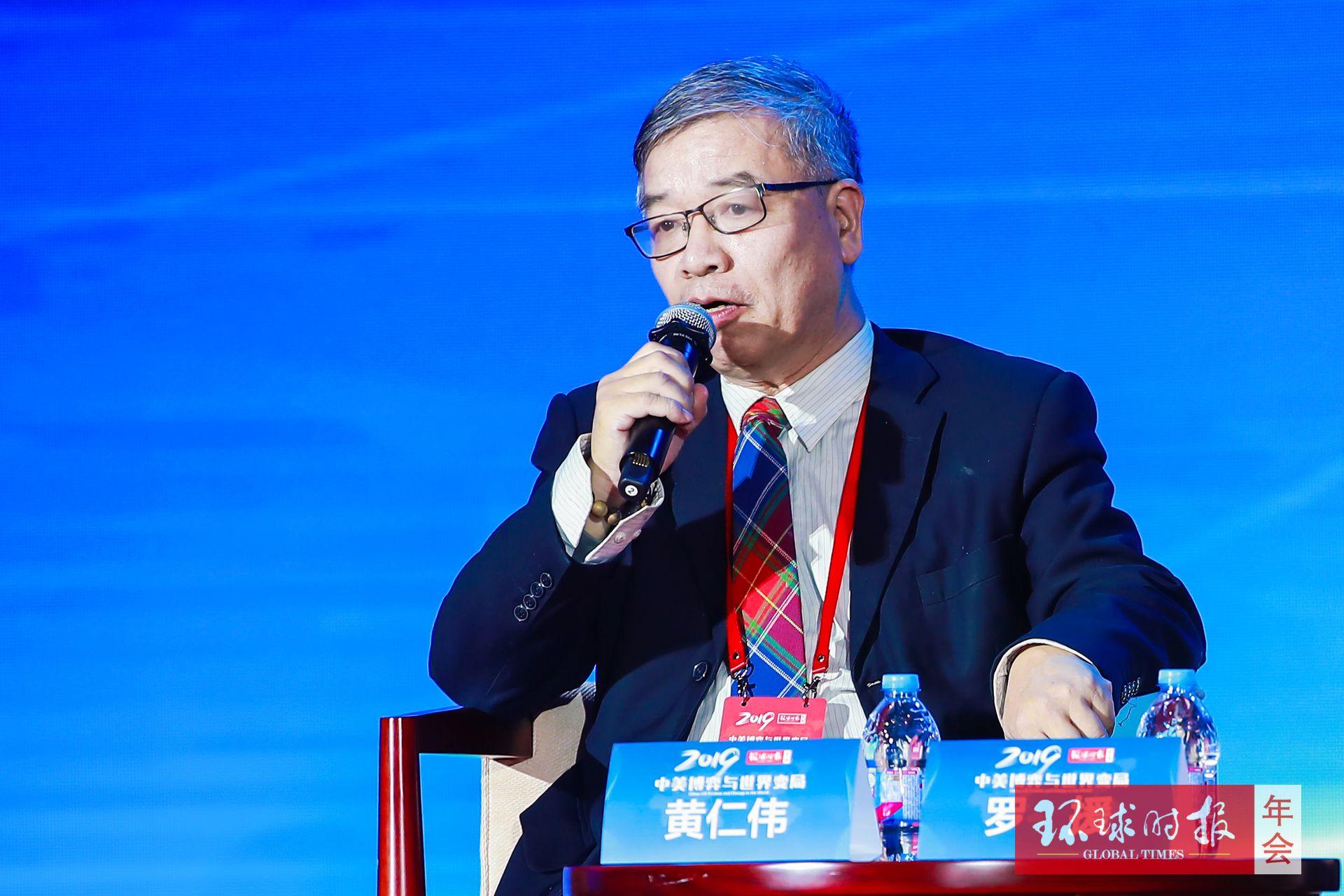"""黄仁伟:2019年,中国要做南海台海""""两线作战""""准备"""