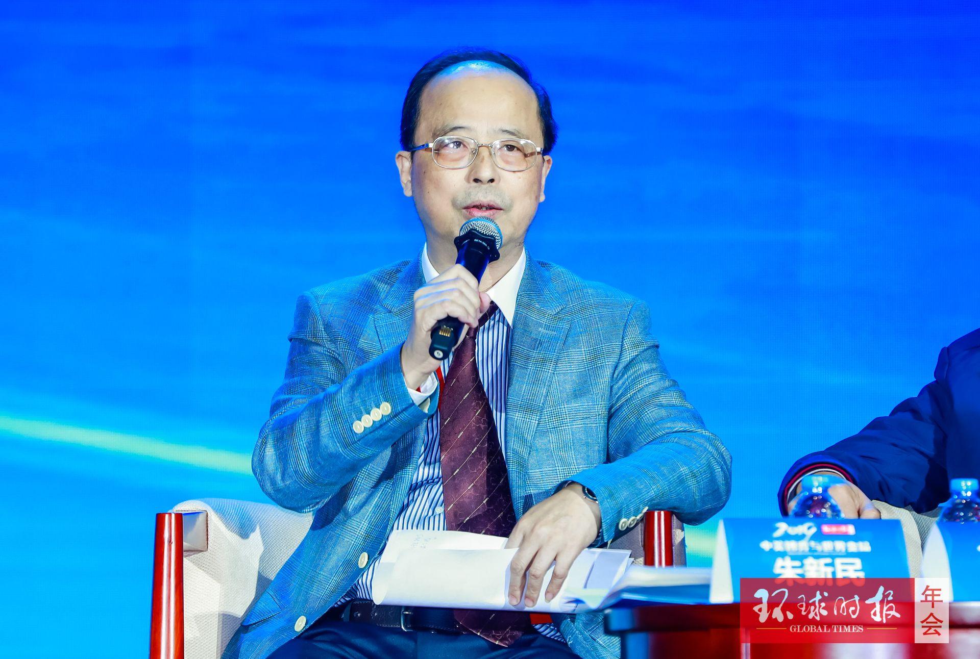 """朱新民:要有定力耐力,避免掉入""""台海陷阱"""""""