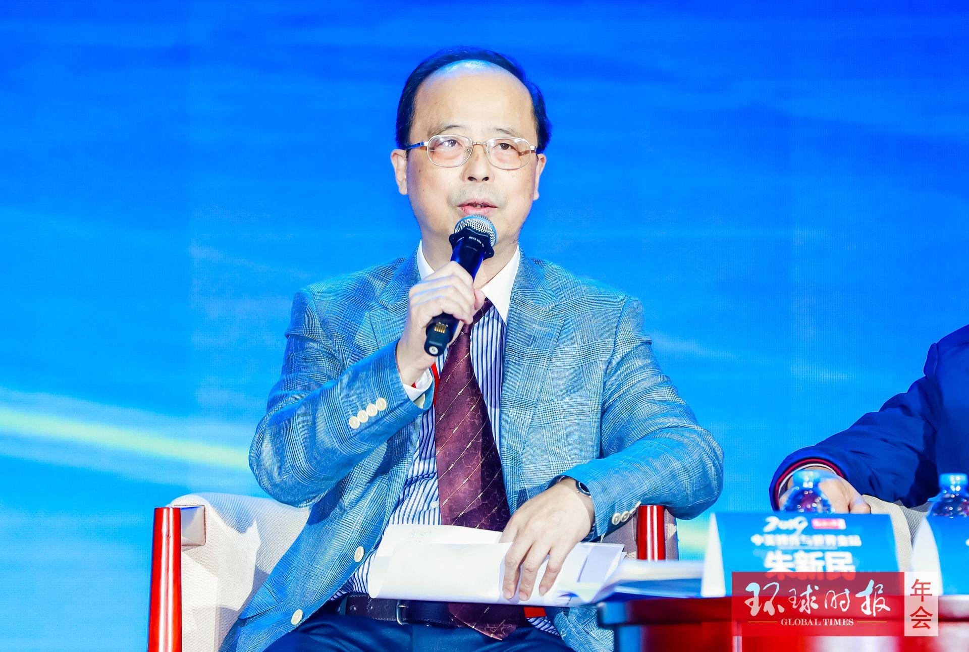 朱新民:台湾不应该自己把统一的选项否定