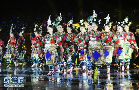 贵州黎平侗文化旅游节开幕