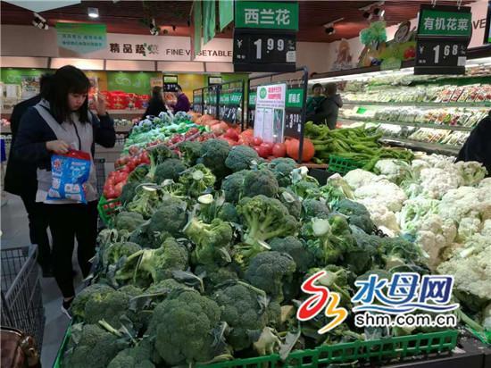 首场雪对烟台蔬菜价格影响不大 部分叶类菜价格小涨