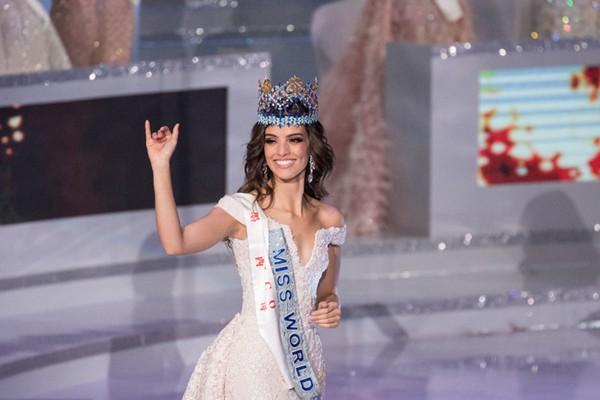 墨西哥小姐获得世界小姐全球总决赛桂冠