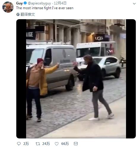 北京赛车辅助软件:2男美国街头互比中指走红 网友:世间最暴力的冲突