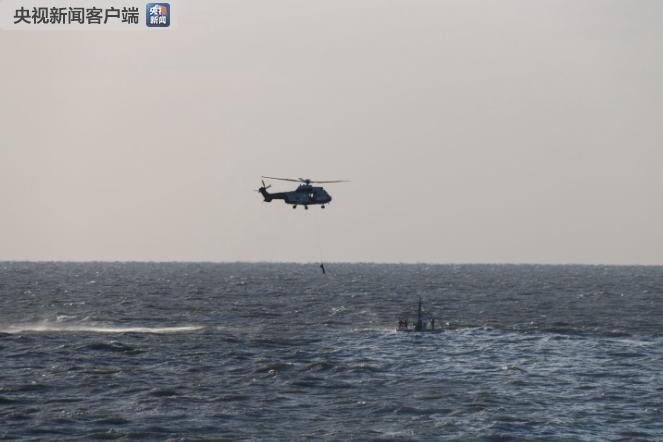 一货轮在山东潍坊海域沉没 9人获救1人已无生命体征