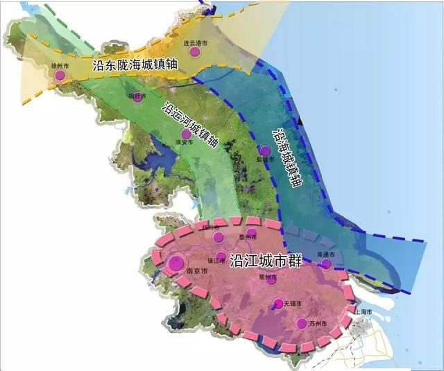 南北挂钩联动 江苏构建省域一体化发展新格局