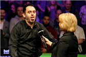 奥沙利文英锦赛第七冠!赛后采访贡献表情包