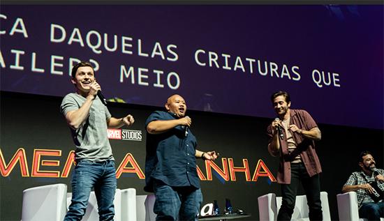 《蜘蛛侠:英雄远征》巴西首秀现场热舞惊喜不断