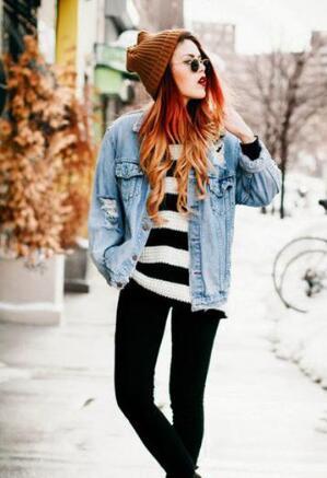 复古or时尚:不一样的牛仔风搭配,让你时尚又显个性!