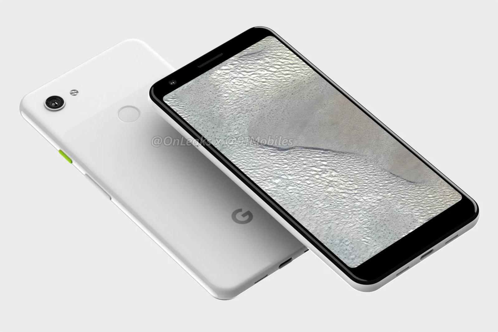 """传谷歌Pixel 3 Lite XL为无""""刘海""""全面屏"""