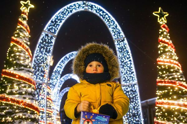 俄罗斯喀山:童话镇圣诞序曲已奏响