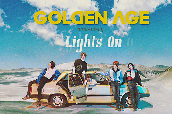 GOLDEN AGE青春第二唱 《Lights On》照亮自我