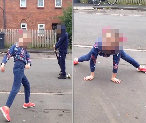 英儿童辱骂社区住户 扬言警察无法处置他们