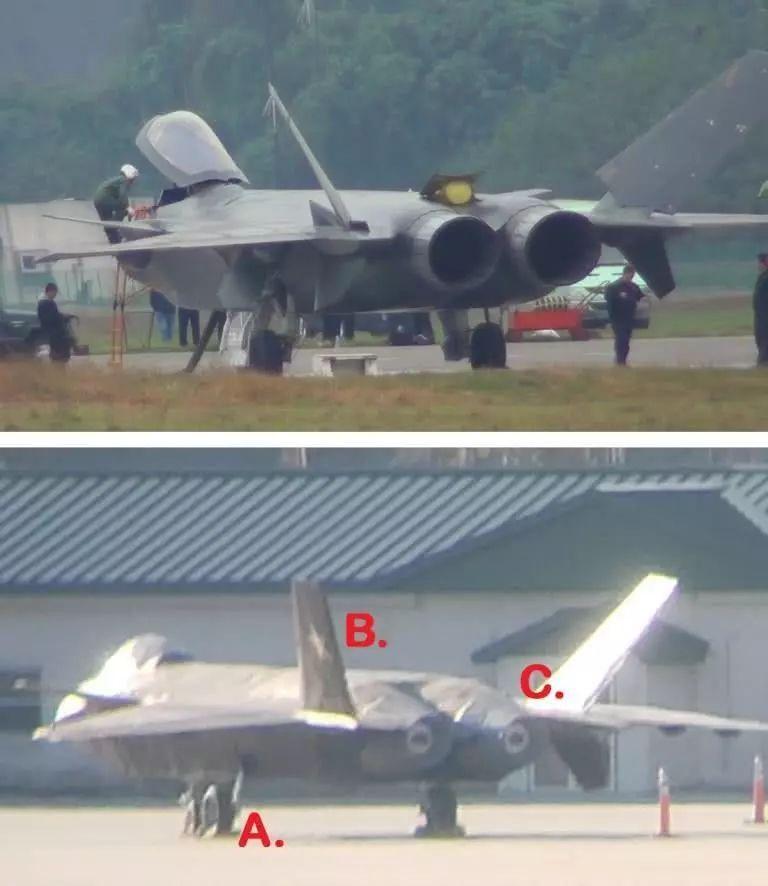 """美国空军证实美军基地中的""""歼-20""""用途"""