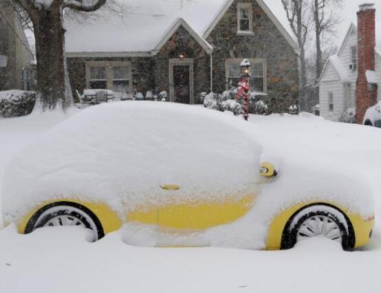紧急状态!冬季风暴袭击美国 超过50万户断电
