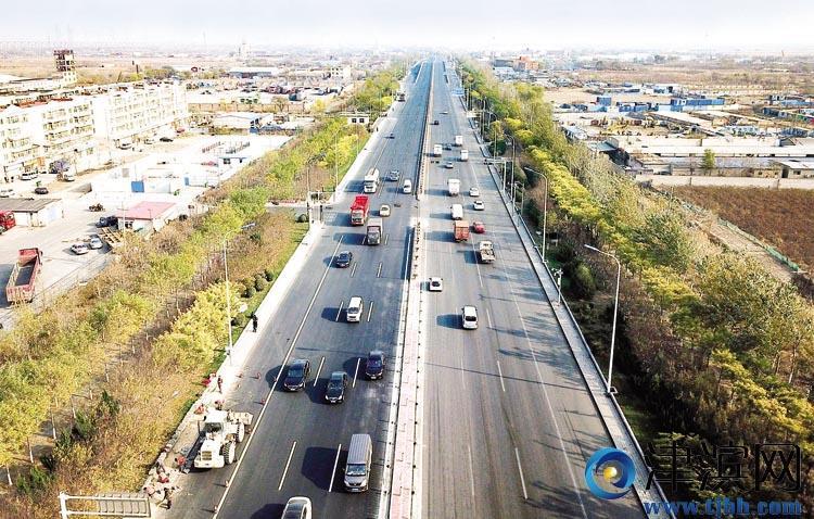 滨海新区一批道路桥梁维修完工