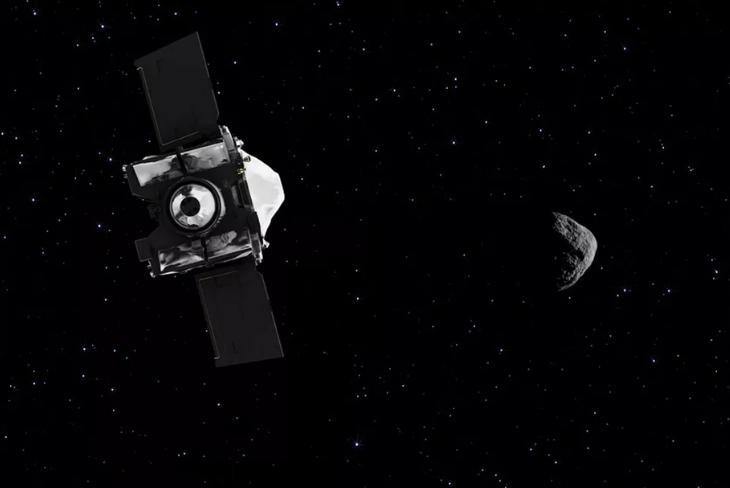 飞行两年后 NASA深空探测器终抵达目标小行星