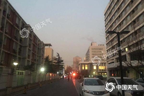 北京大部最低温破12月上旬近10年纪录 今夜再迎冷空气