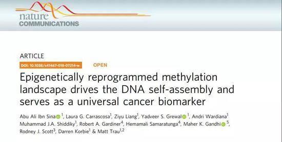 有钱任性!识别癌症DNA,这种纳米金颗粒只要10分钟