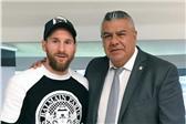 梅西和阿根廷足协主席+主帅见面 要回归国家队?