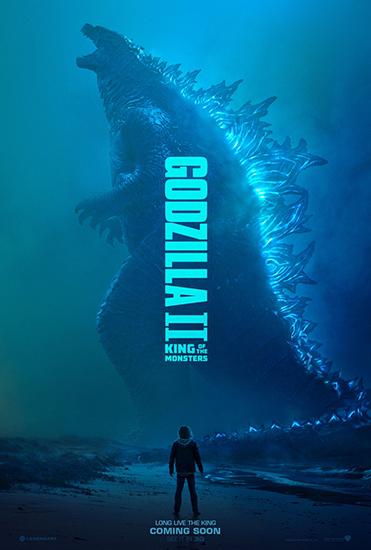 《哥斯拉2:怪兽之王》曝预告海报 四大怪兽同框