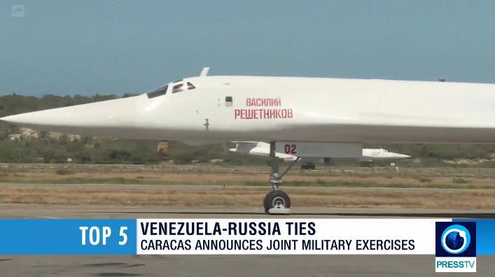 """俄轰炸机这个大动作""""惊动""""欧美:飞越1万多公里落在美国"""