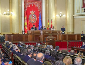 习近平向西班牙参议院、众议院主要议员发表讲话