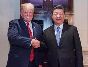 习近平主席同特朗普总统举行中美元首会晤