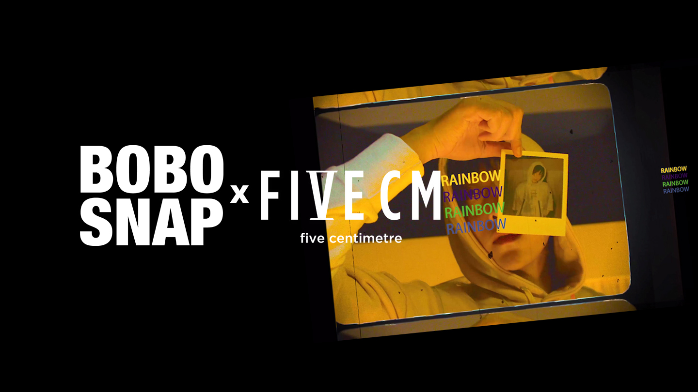 FIVE CM×BOBOSNAP今年又做了件很酷的事
