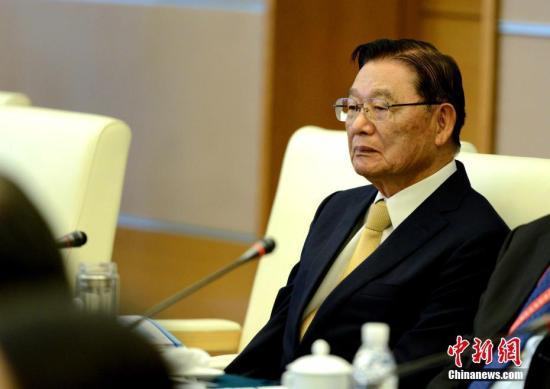 资料图:江丙坤 中新社记者 王东明 摄