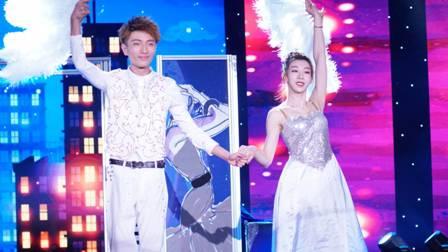 魔术师王亚亮和贾惠羽在欧洲走红