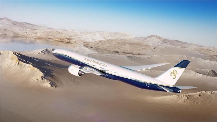 波音推新款BBJ 777X喷气商务机 续航破1.3万英里