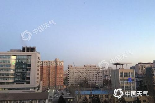 低温大风席卷北京最高气温