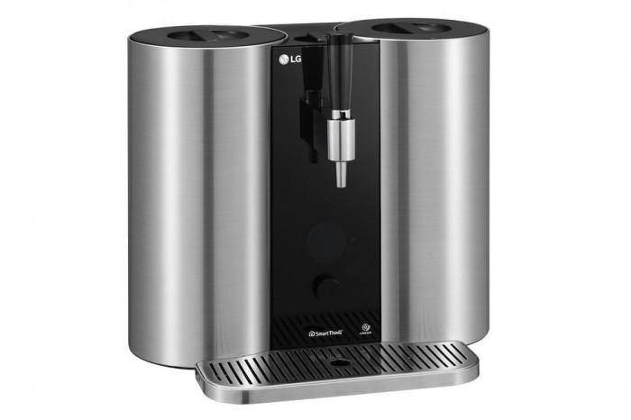 "LG在CES上展示一款""基于胶囊的精酿啤酒""机器"