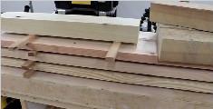 纯手工打造木工桌