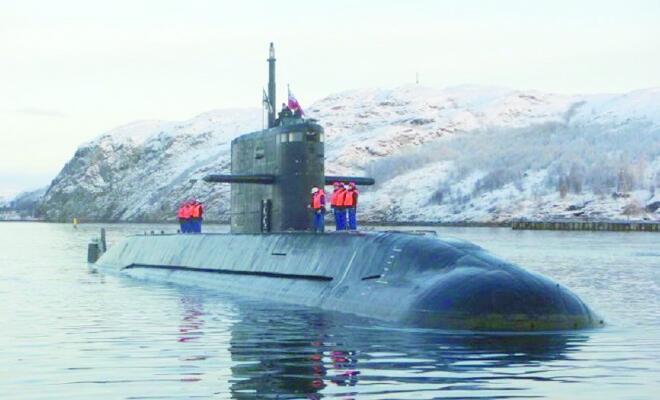 俄新增部署最新型攻击潜艇 保卫远东核潜艇基地
