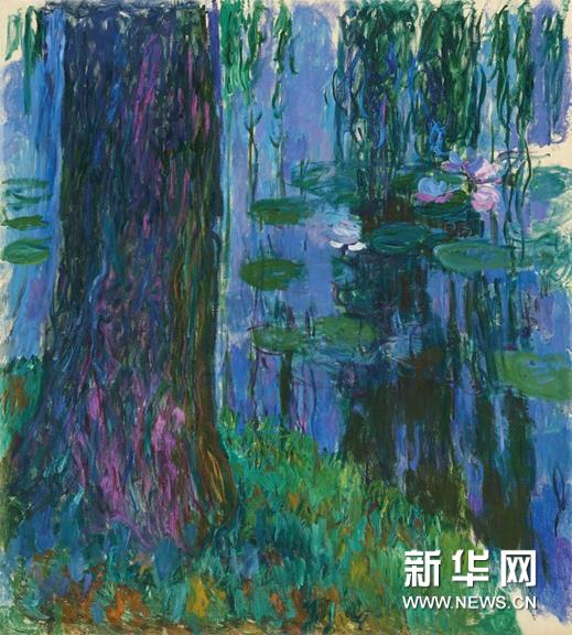 莫奈巨型油画《垂柳与睡莲池》领衔2019年佳士得伦敦专拍
