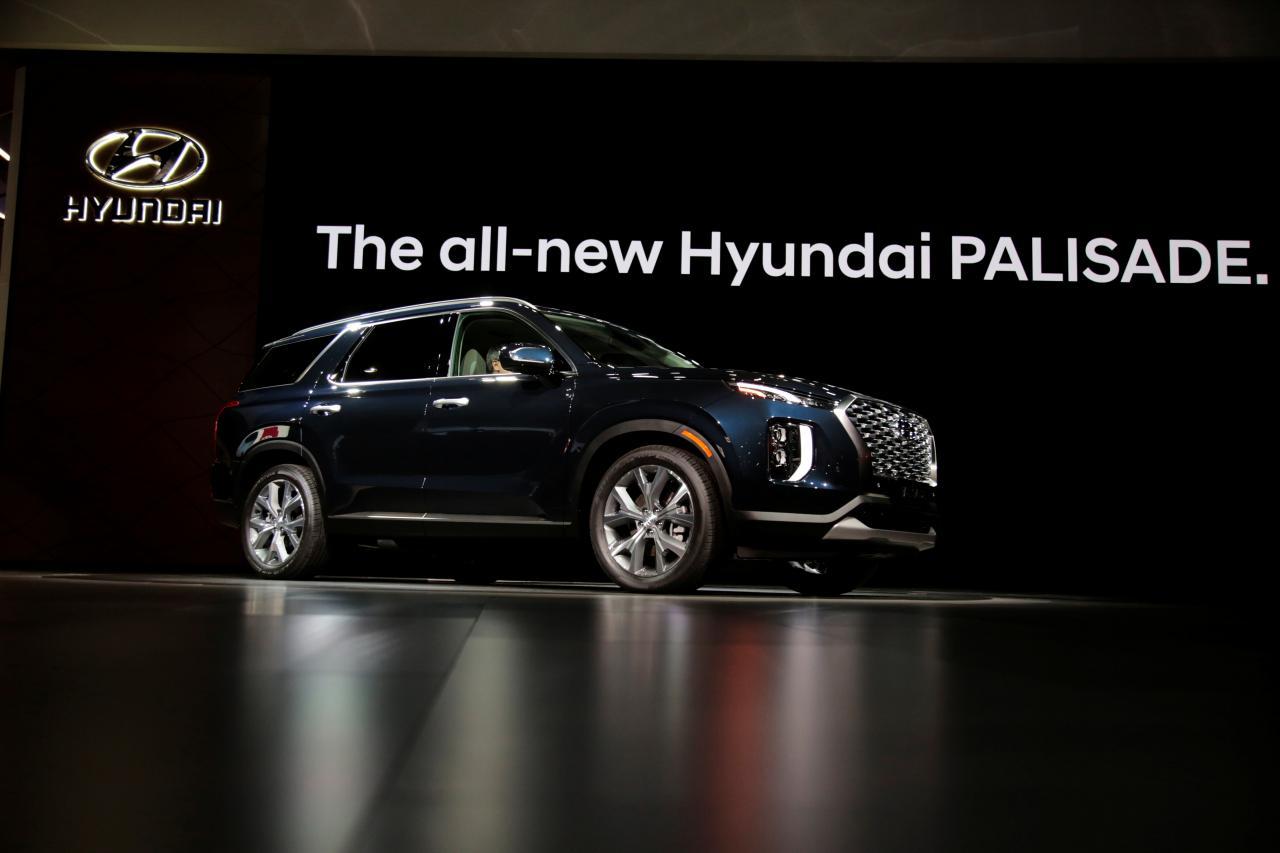 现代Palisade SUV在韩上市 起价合22万元