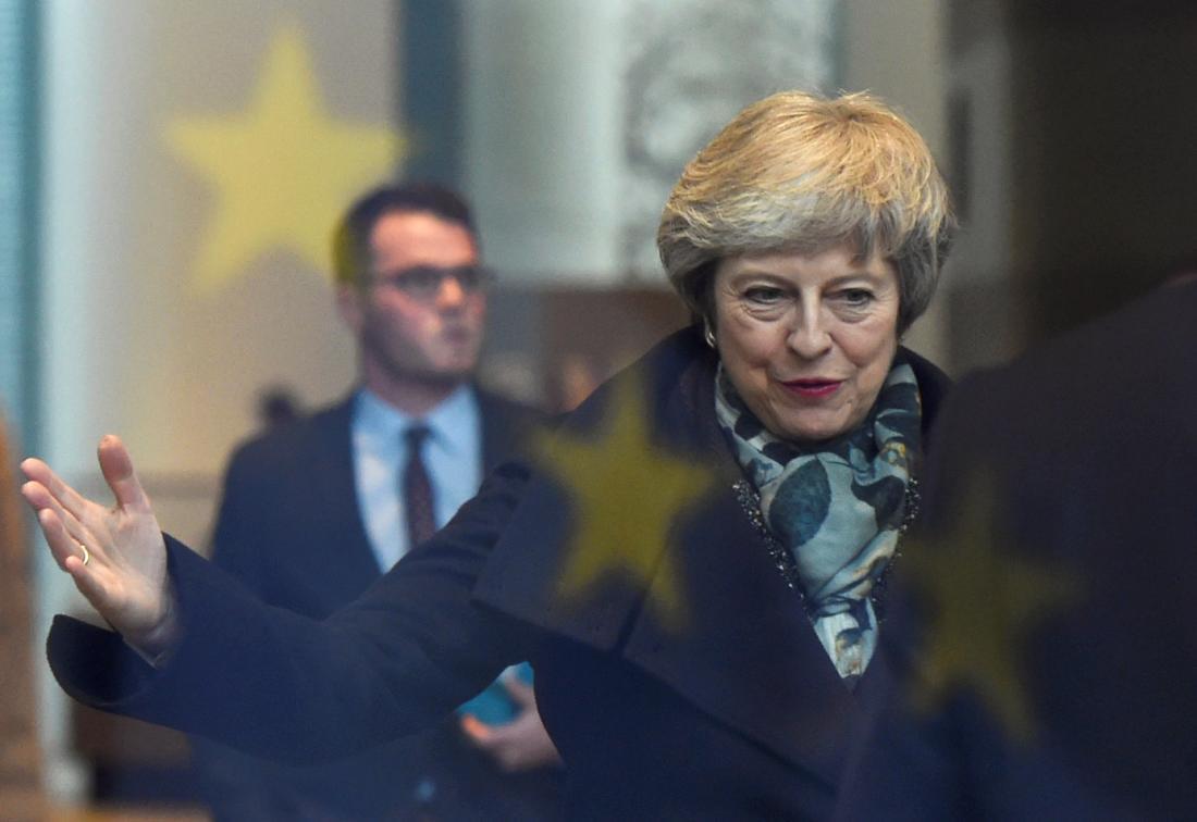 特雷莎·梅回应党内不信任投票:将危及国家的未来