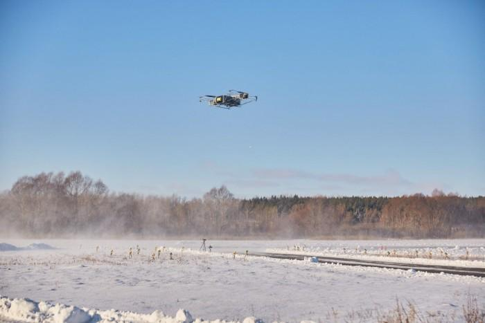 俄罗斯Skyf重型油动无人机飞行演示 载荷或创吉尼斯世界纪录